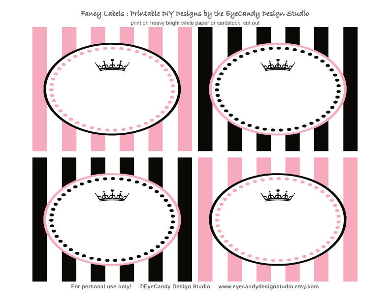 Free Fancy Labels http://www.etsy.com/listing/110282689/printable-food ...