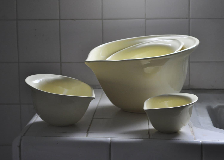 Sumba- Mixing Bowls Set - CharmCeramics