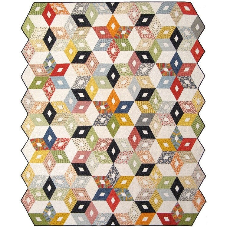 black diamond quilt pattern by