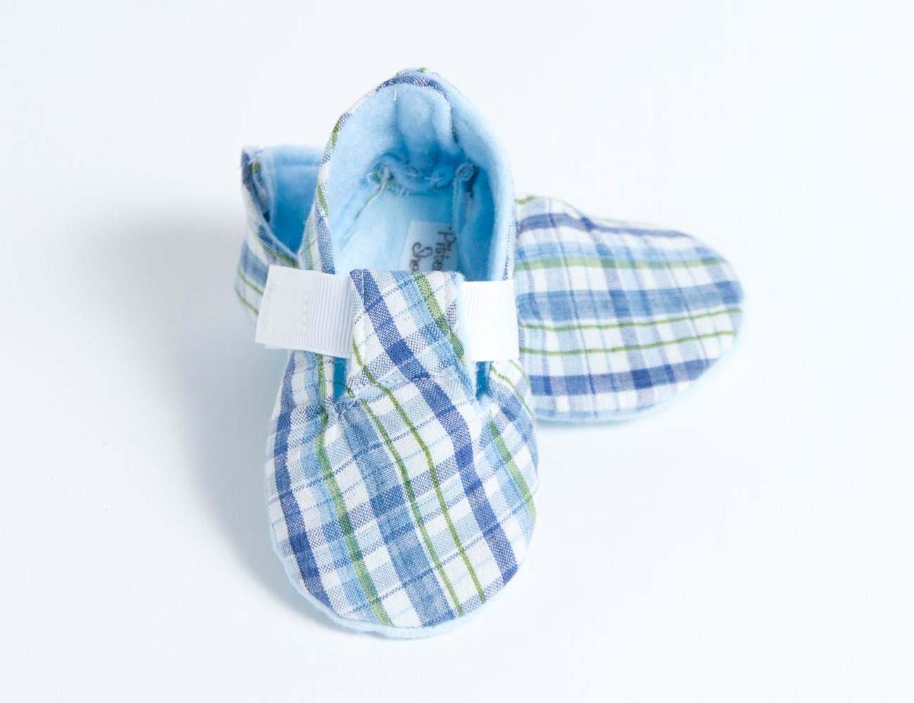 TINY TIKE-Blue and White Baby Boy Bootie
