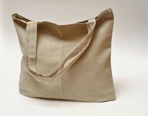 "Linen Market Bag. Size: 13"" x 13"" - JBworld"