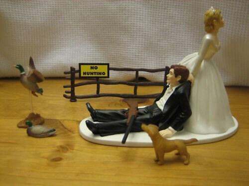 Duck Hunting Wedding Cake Topper Groom 39s Cake
