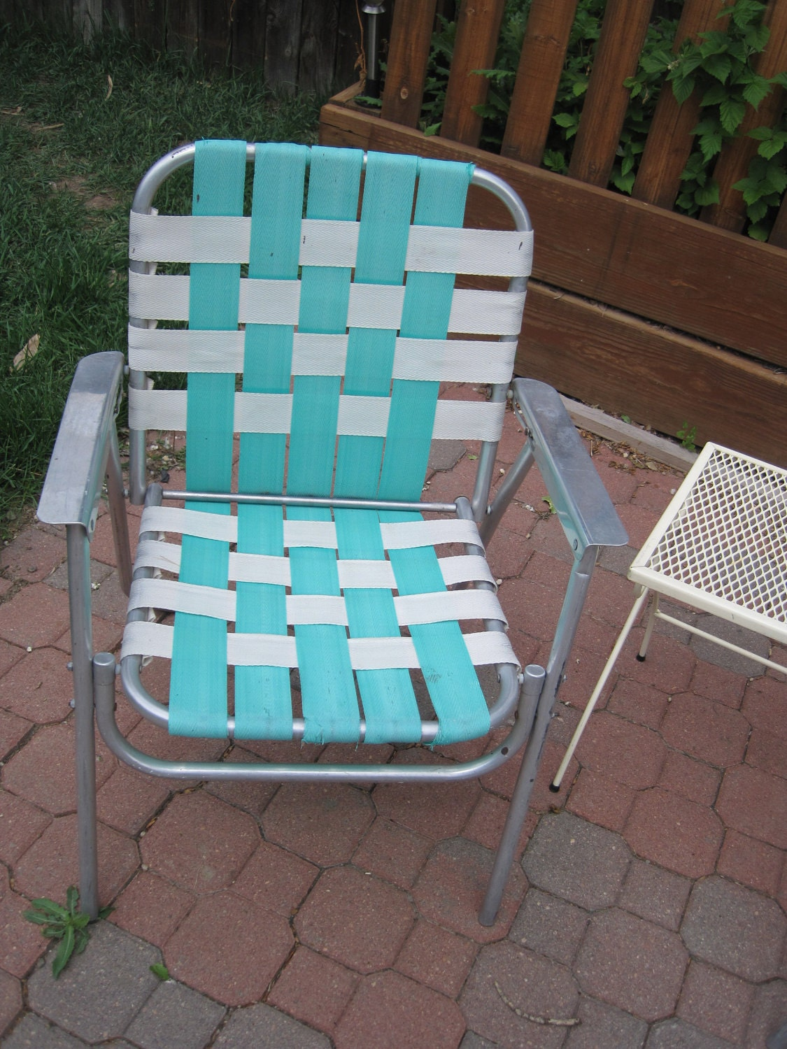 Lawn chair webbing replacement for Lawn chair webbing