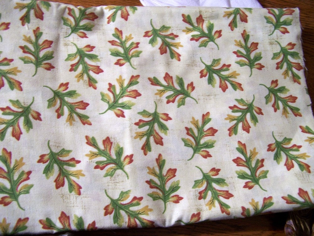 Oak Leaves Fabric Signature Classics by Oakhurst Textiles Yardage