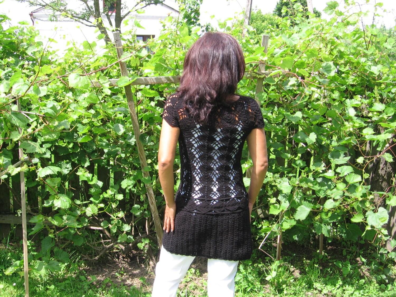 Crochet tunic for order - CreativeBea
