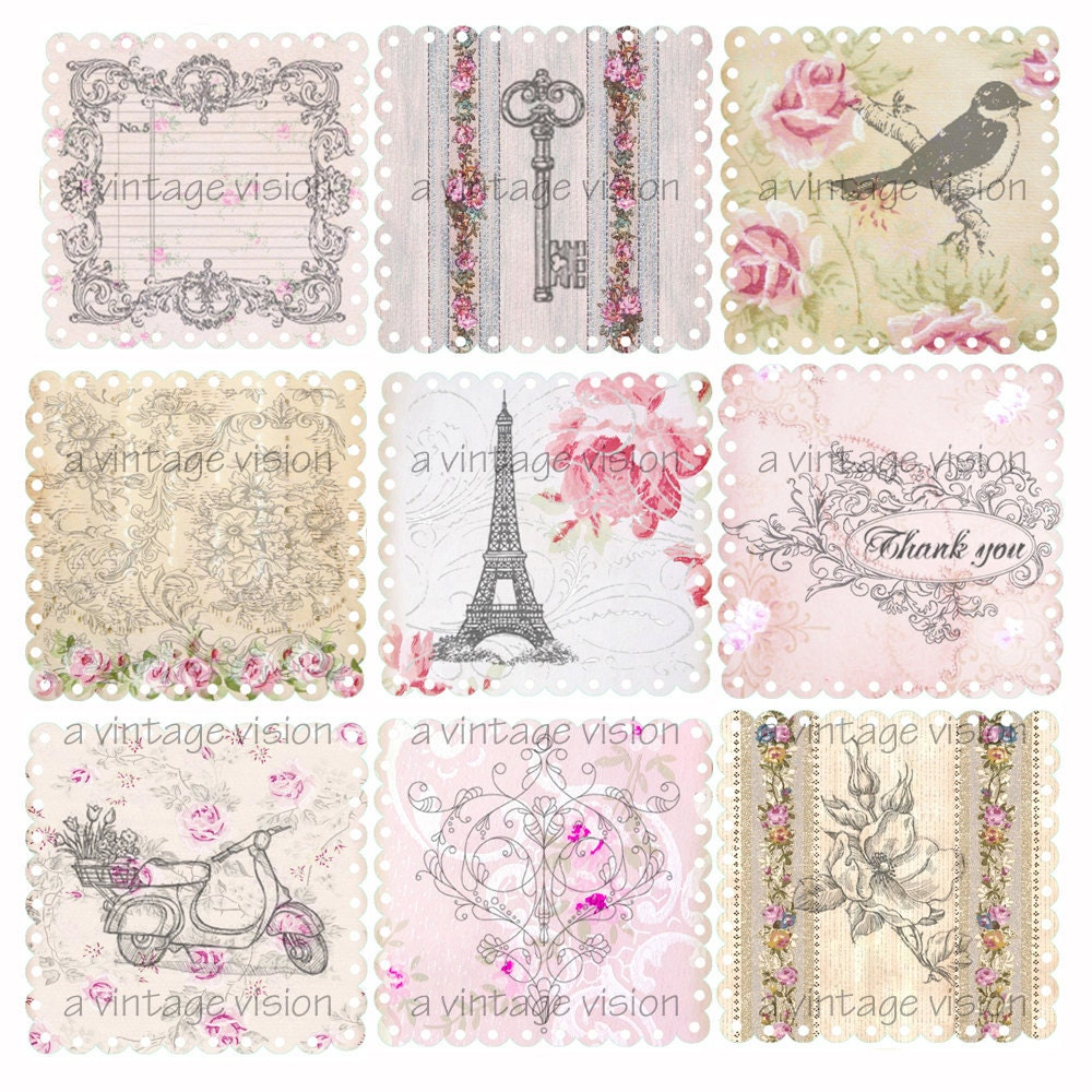Shabby Chic Tag Vintage Wallpaper Pictures