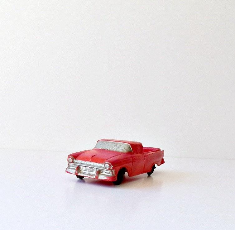 Vintage Toy Car 1957 Ford Ranchero - DairyFarmAntiques