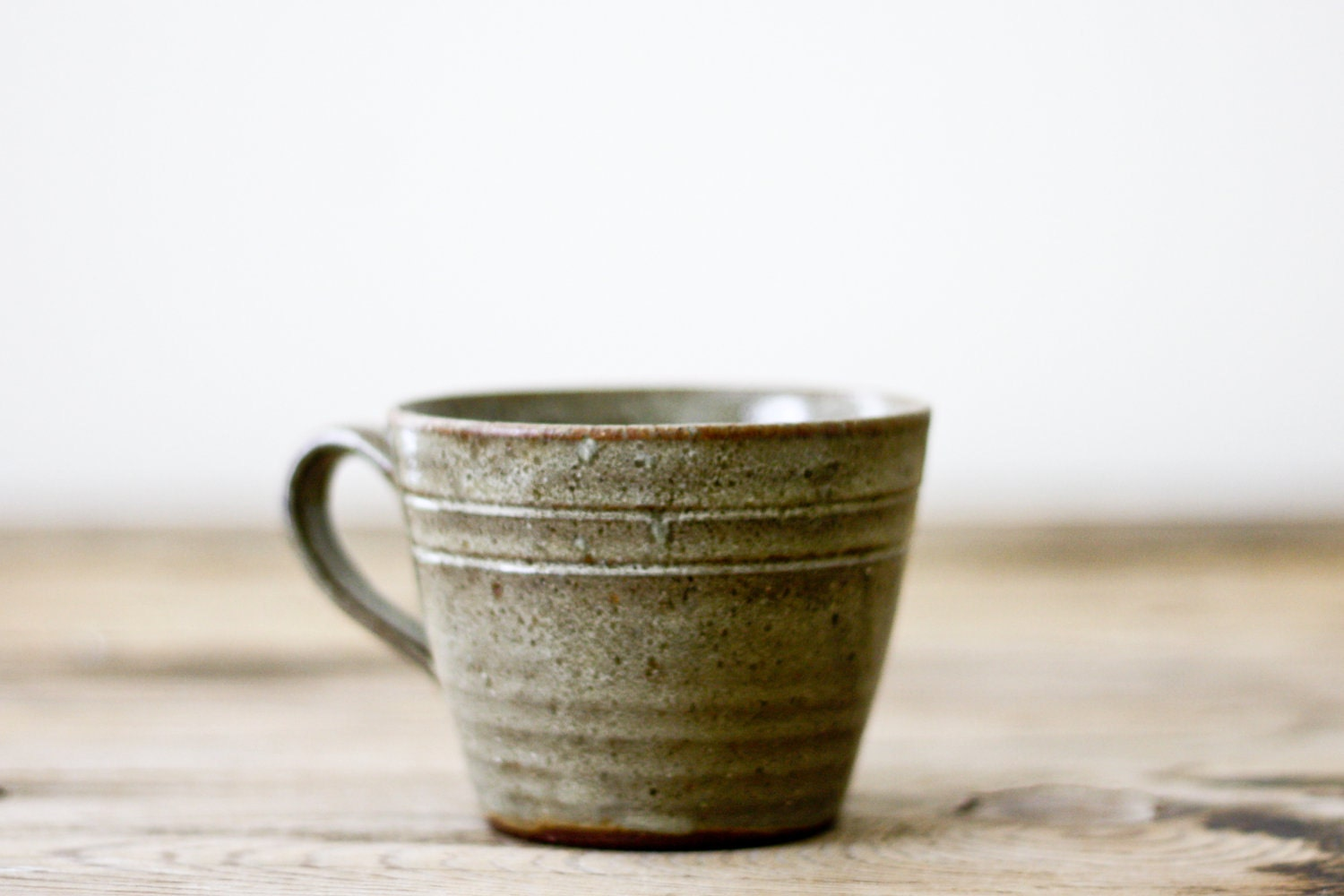 Vintage Pottery Mug from Jugtown Pottery of Seagrove, NC - PineandMain