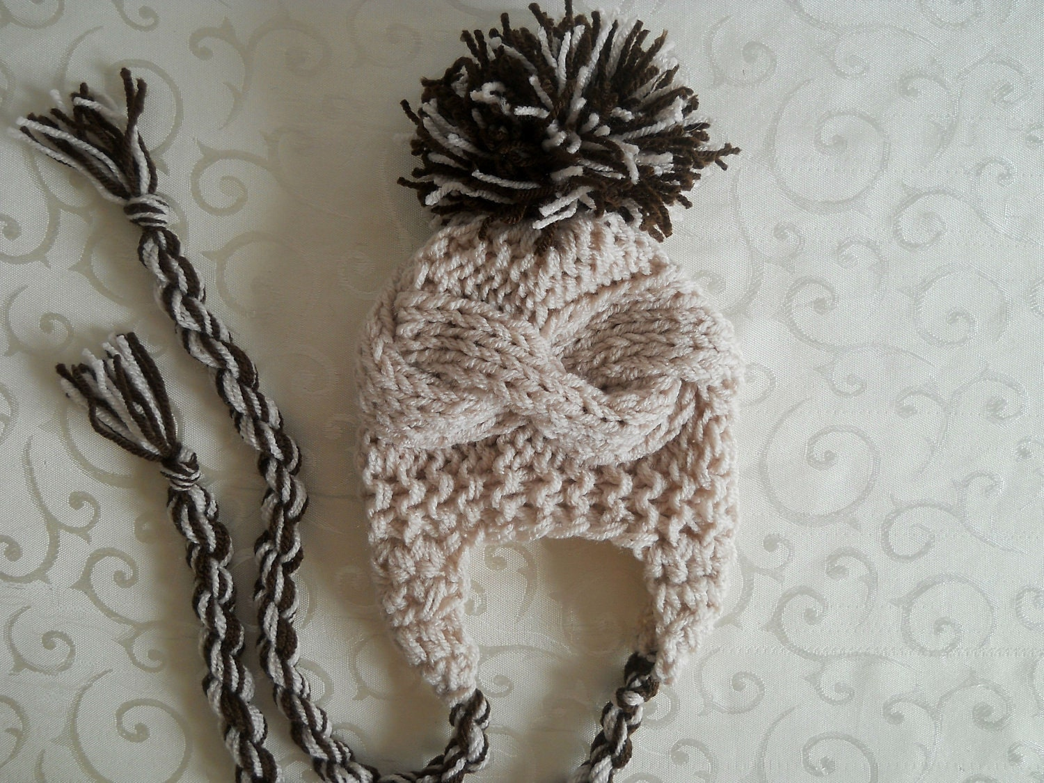 Knit Baby Boy Hat, Baby Boy Knit Hat Newborn Boy Hat, Toddler Boy Hat, Infant Boy Hat, Baby Boy Hat Photo Props