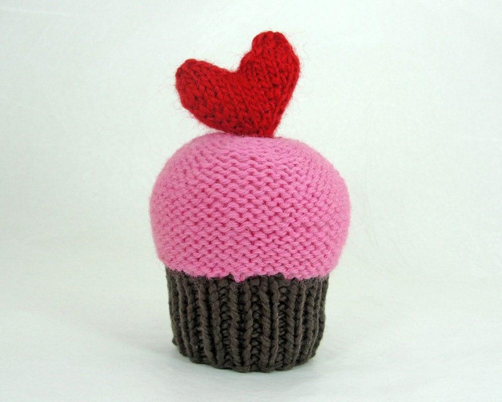 I Heart You Cupcake
