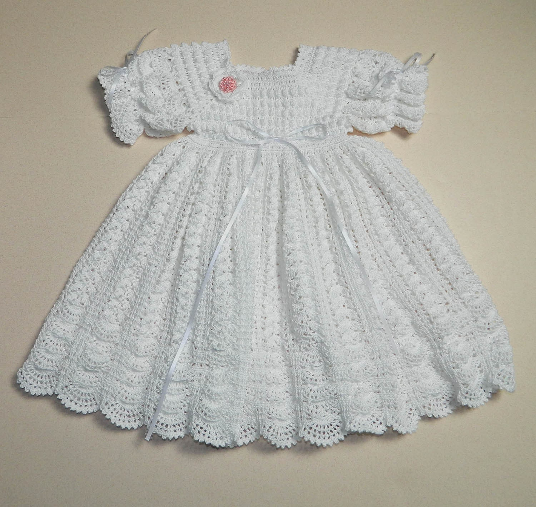 Crochet Stitches Baby Frock : crochet baby dress crochet Pinterest