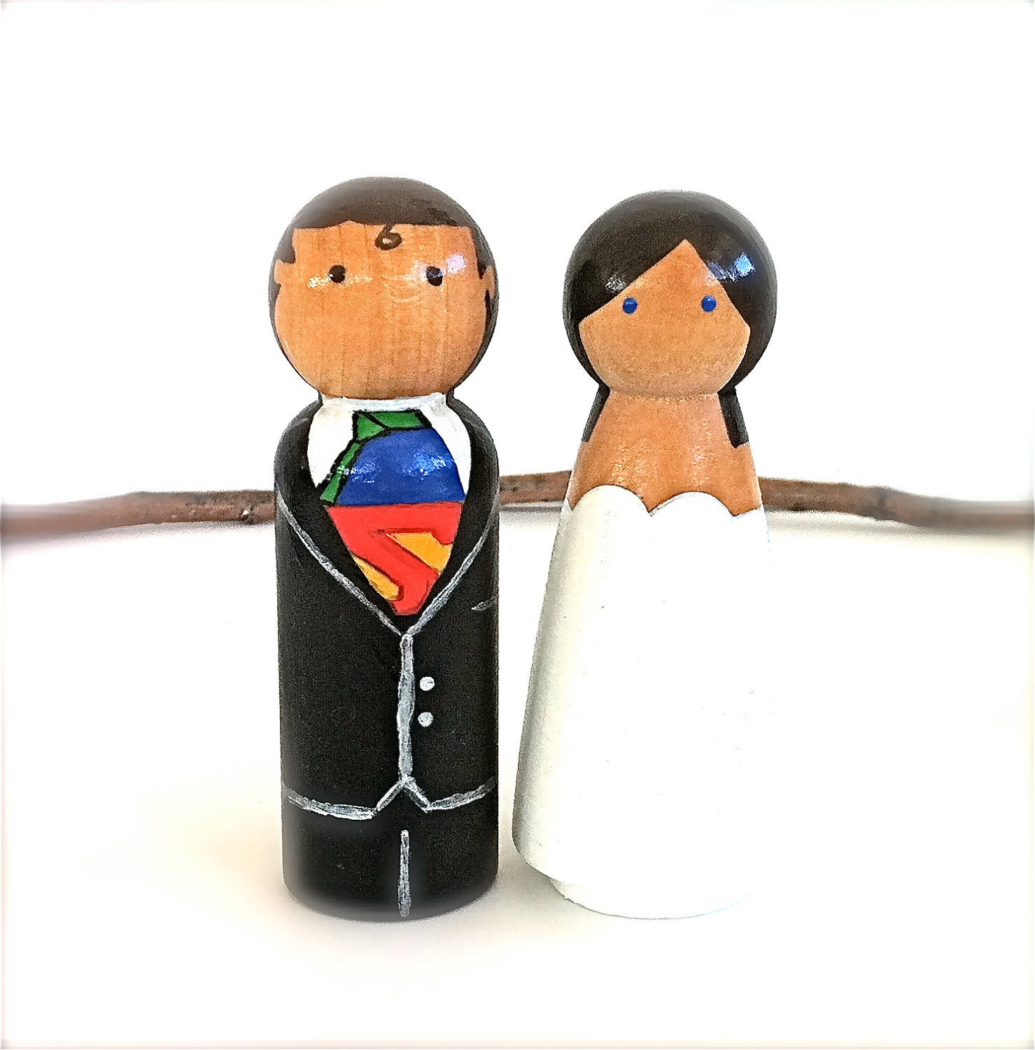 Superman Wedding Cake Topper Viewing Gallery