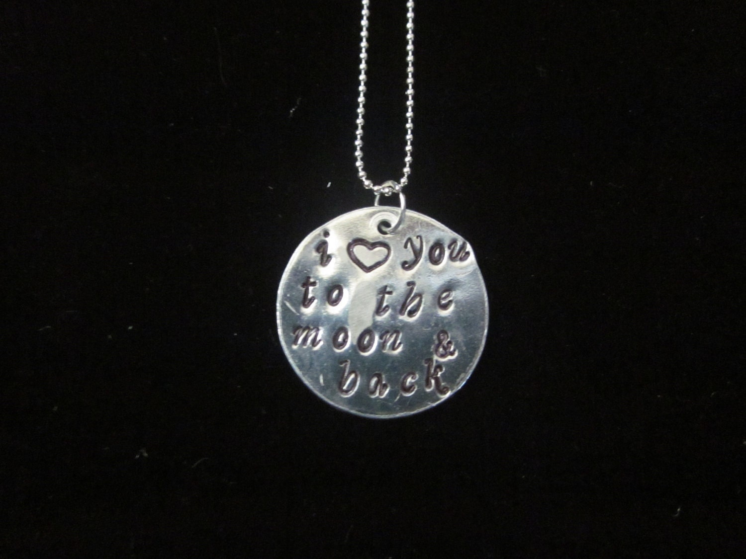 Custom Hand Stamped Necklace- The Isabella