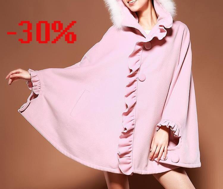 kekebo 30 ٪ فروش پشم ترمه پوشش لباس مخمل نخی راه راه کت کت خز صورتی سیاه قرمز سبز سیاه کت کت گل کت کت بلند پرسید :