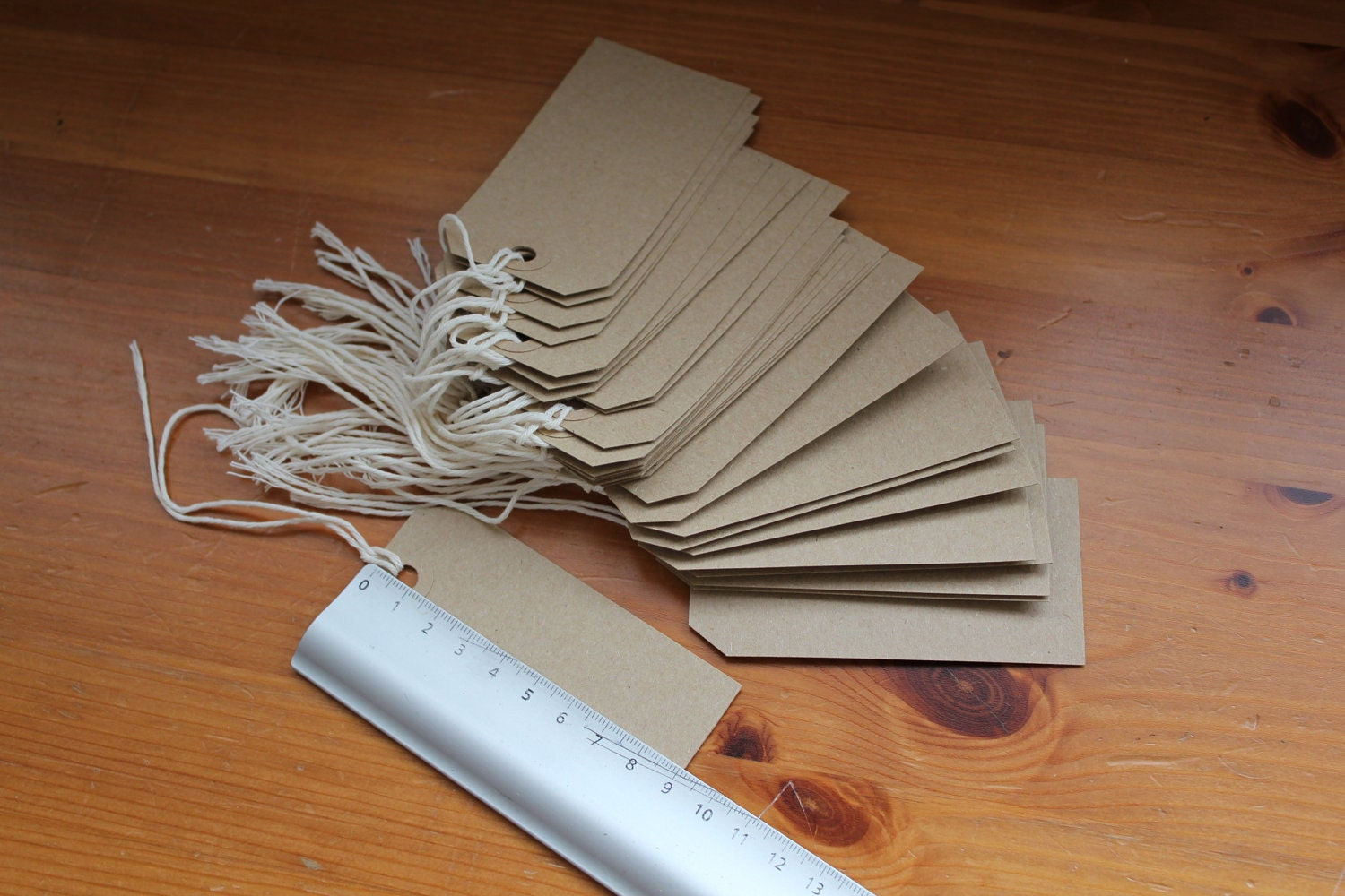 150 Brown paper tags - eco friendly tags - blank labels - QUICK SALE - amandarinduck