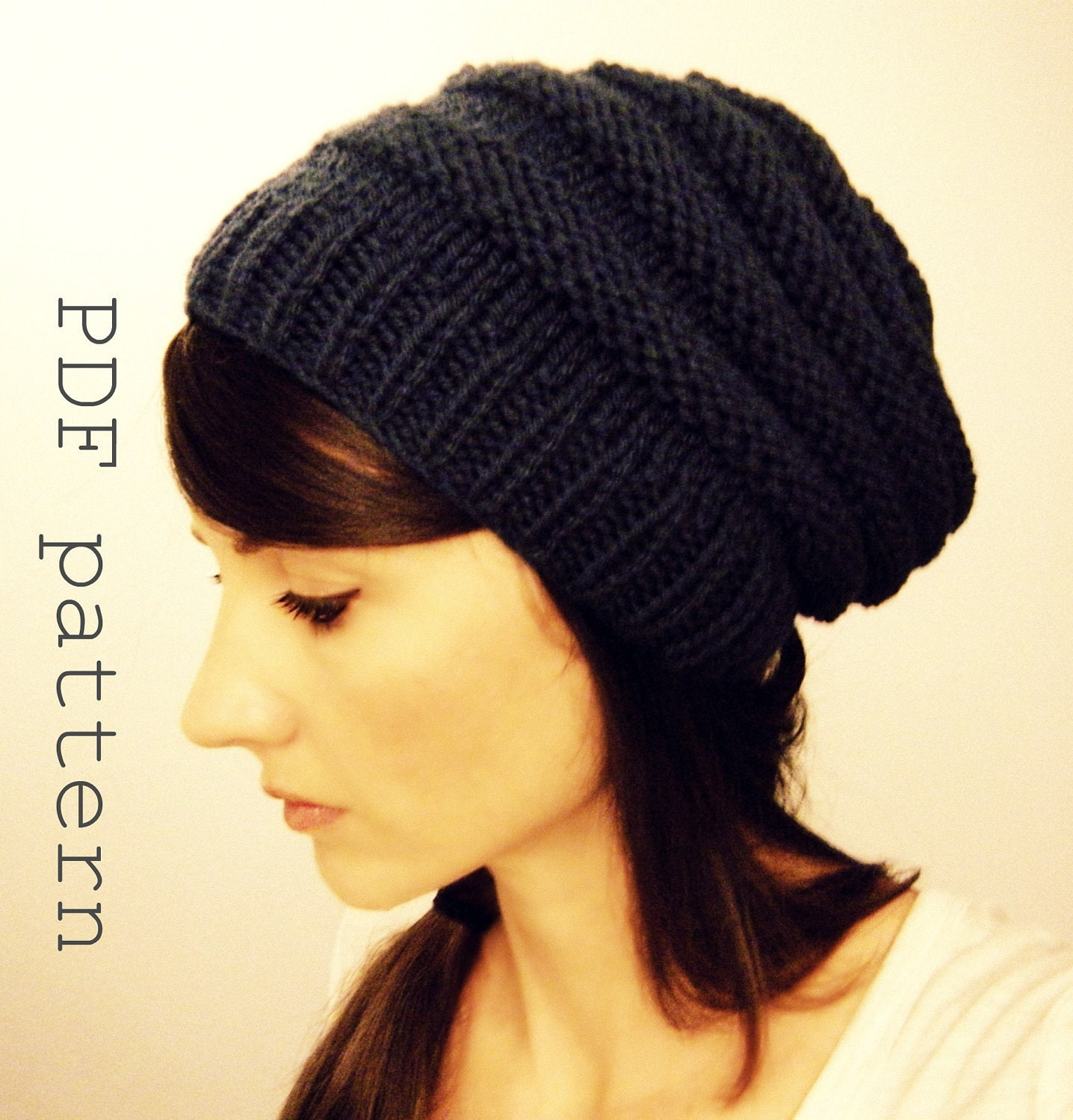 Slouch hat PATTERN To Market