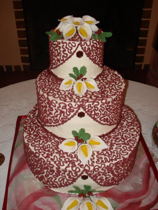 Kansas City Etsy Street Team: Sweet Anna Cakes:: Kansas City Wedding Cakes