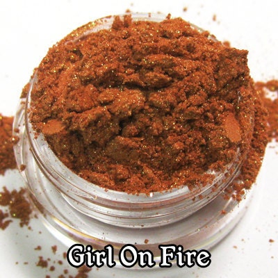 Girl on Fire - Loose Vegan Eyeshadow - Full Size - The Tributes Collection - shirocosmetics