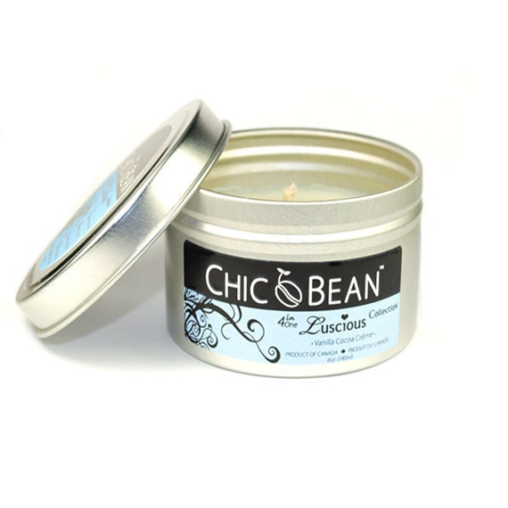 CHIC Bean 4 in 1  Luscious Collection - Vanilla Cocoa Crème with USDA Certified Organic Cocoa Butter