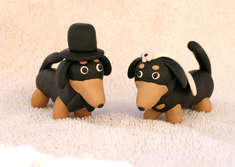 Pin Daschund Weiner Dog Wedding Cake Topper Cake on Pinterest