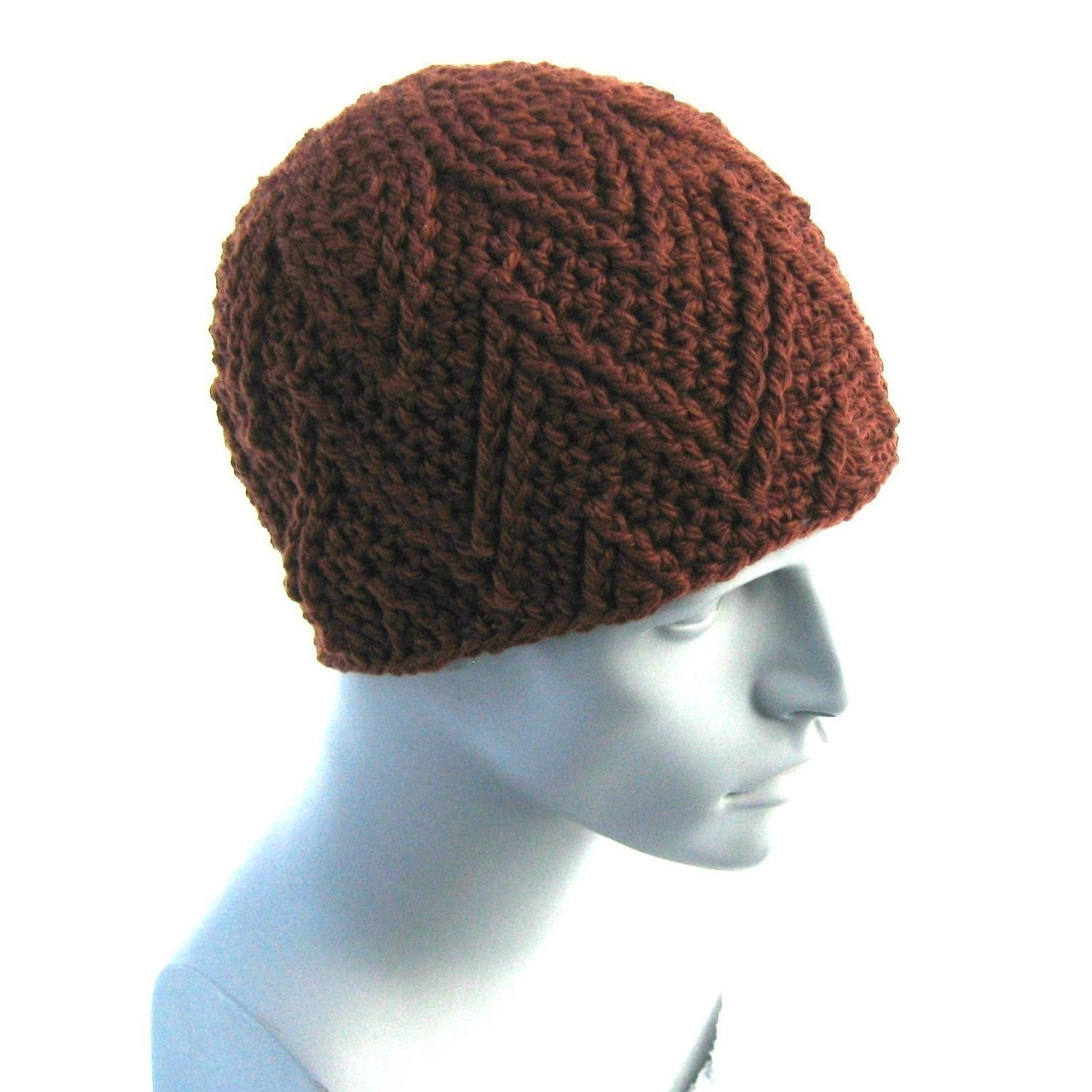 The Zig Beanie (AKA The Charlie Brown) - CROCHET PATTERN