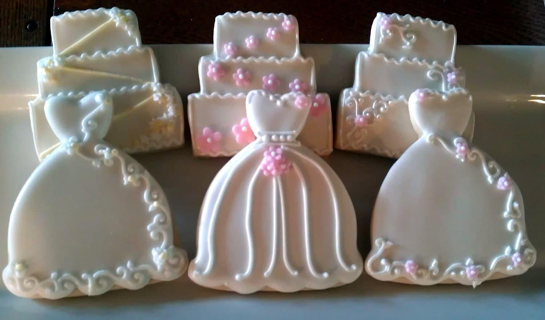 Dress cookie cutter designs on pinterest sugar cookies for Wedding dress cookie cutters