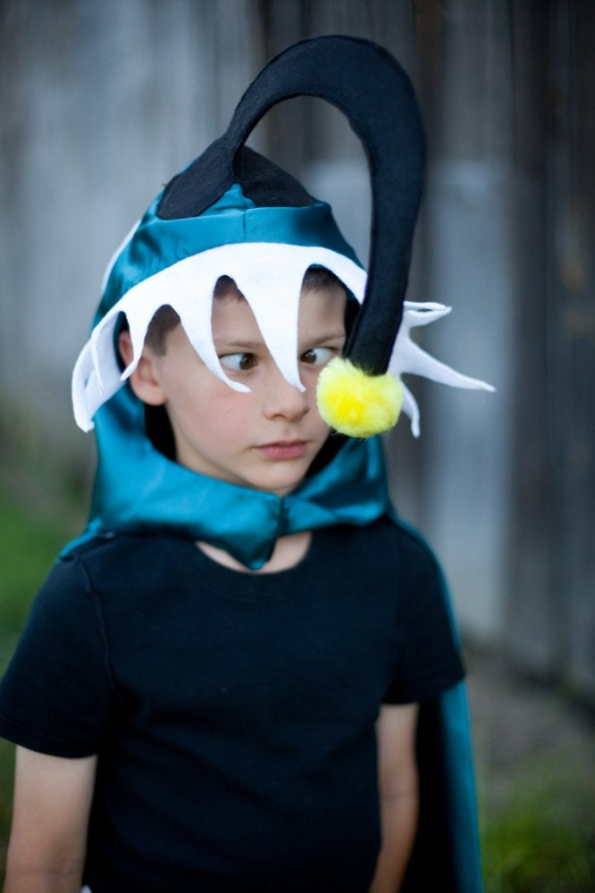 Exploring creativity curiosity and conscious thought for Angler fish costume