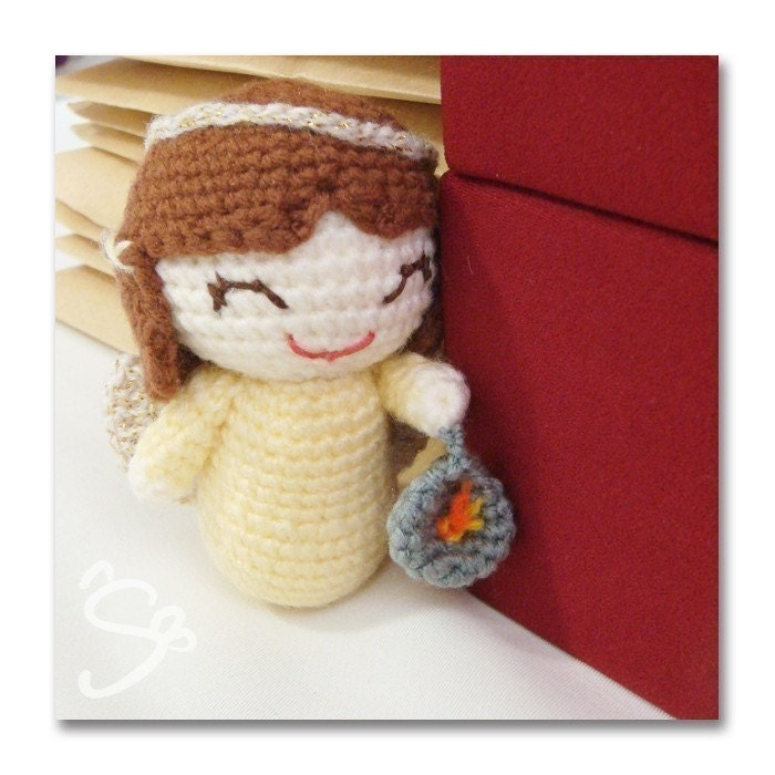 angel of light amigurumi pattern