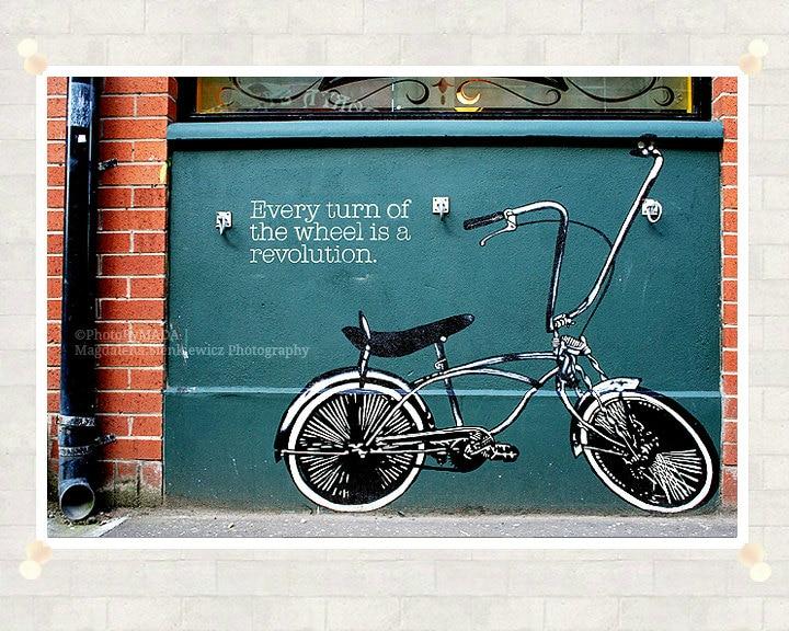 Retro Bike Photography 8x12 inch (20x30 cm) Street Art Fine Art Photography - Home decor - Gift Idea - PhotoByMADA - PhotoByMADA