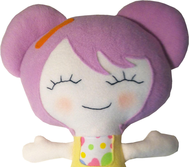 Murasaki Cloth Doll - Kokma