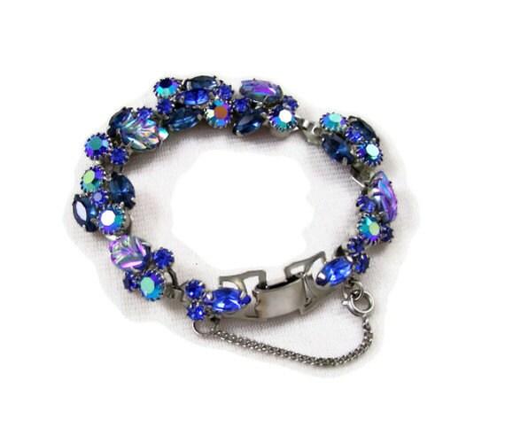Stunning Blue Weiss Bracelet - rhinestonesrock