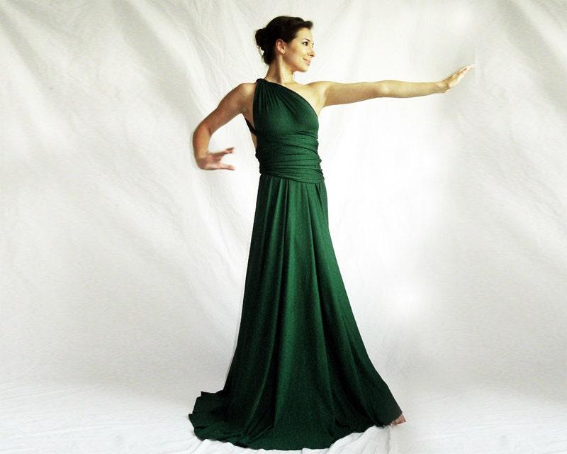 Diane Von Furstenberg black jersey 'Samira' maxi wrap dress