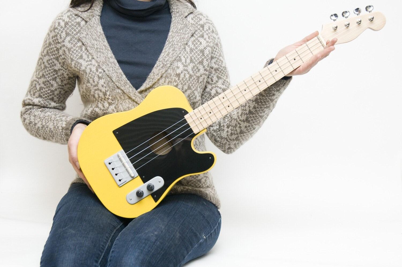 Tele style tenor ukulele