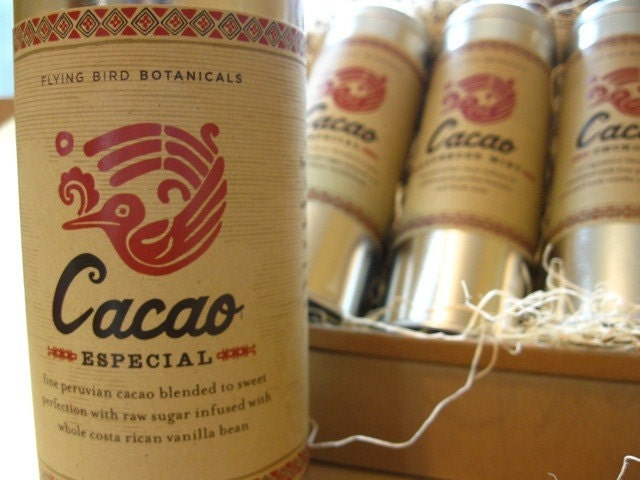 cacao especial... 100% organic and fair trade drinking chocolate