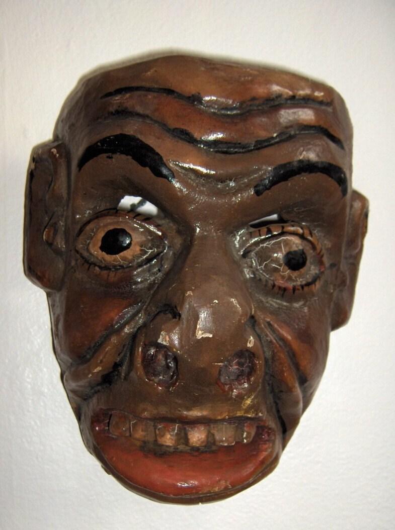 African masks wonderful hand carved folk art new orleans