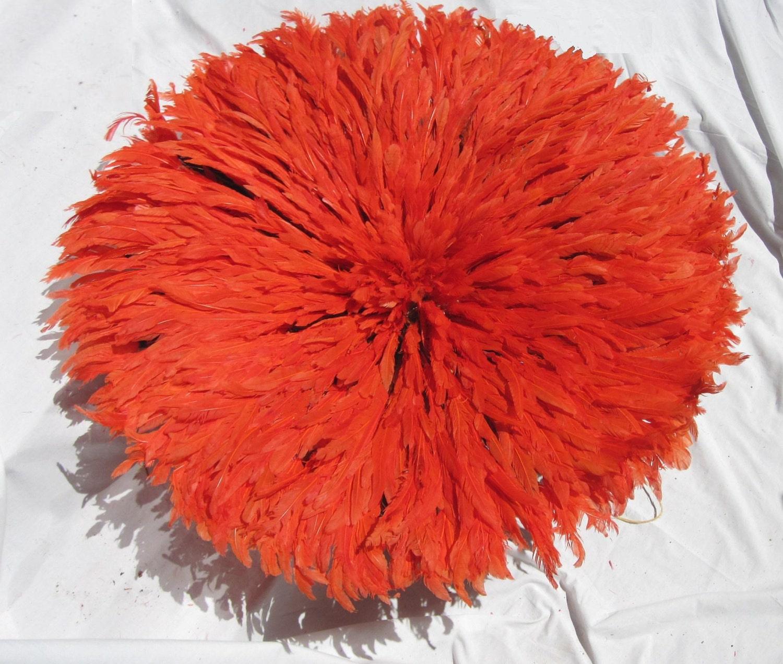 Orange Juju Hat