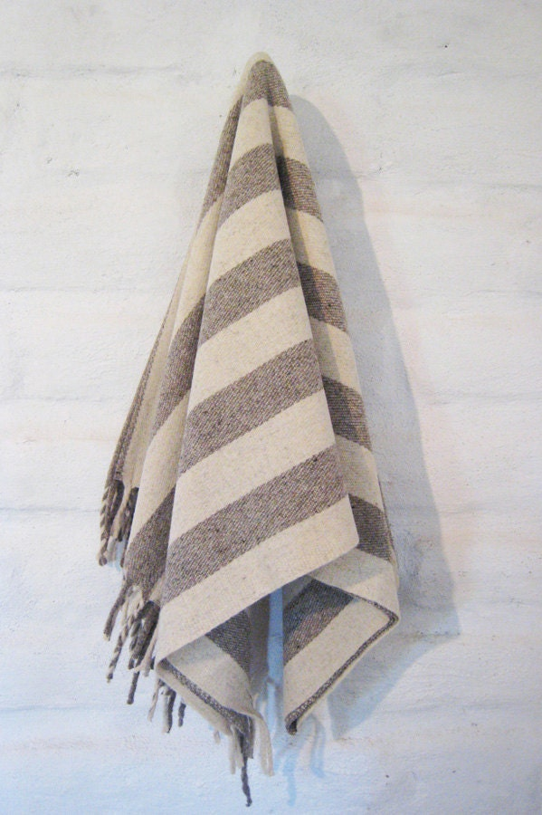 Big Sur 100% Pure Virgin Wool Blanket/Throw/Sarape