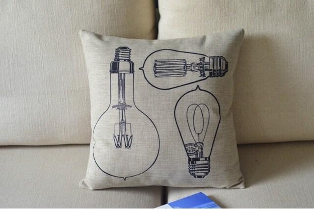 Decorative Cotton linen Cushion Cover, Pillow Case - PillowCoverStyles
