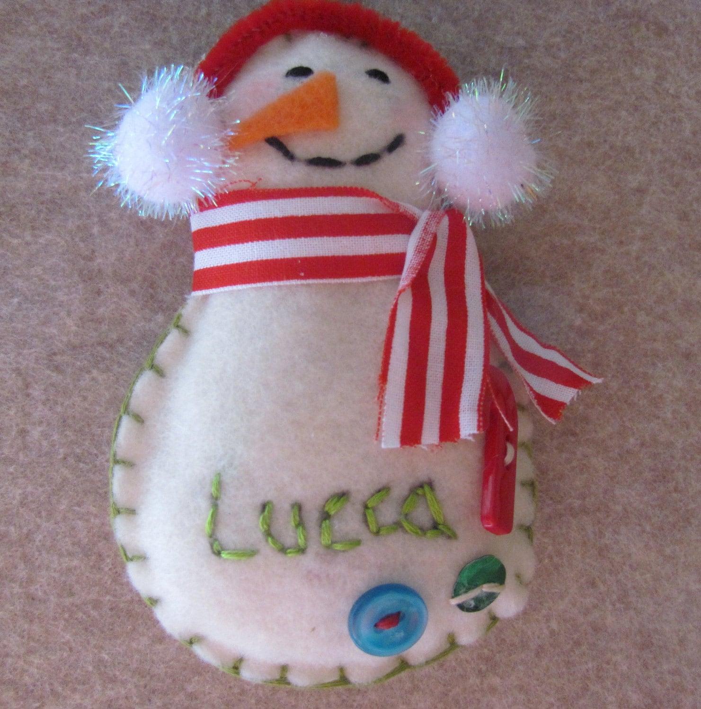 Персонализированные снеговика - Скажи мне имя.
