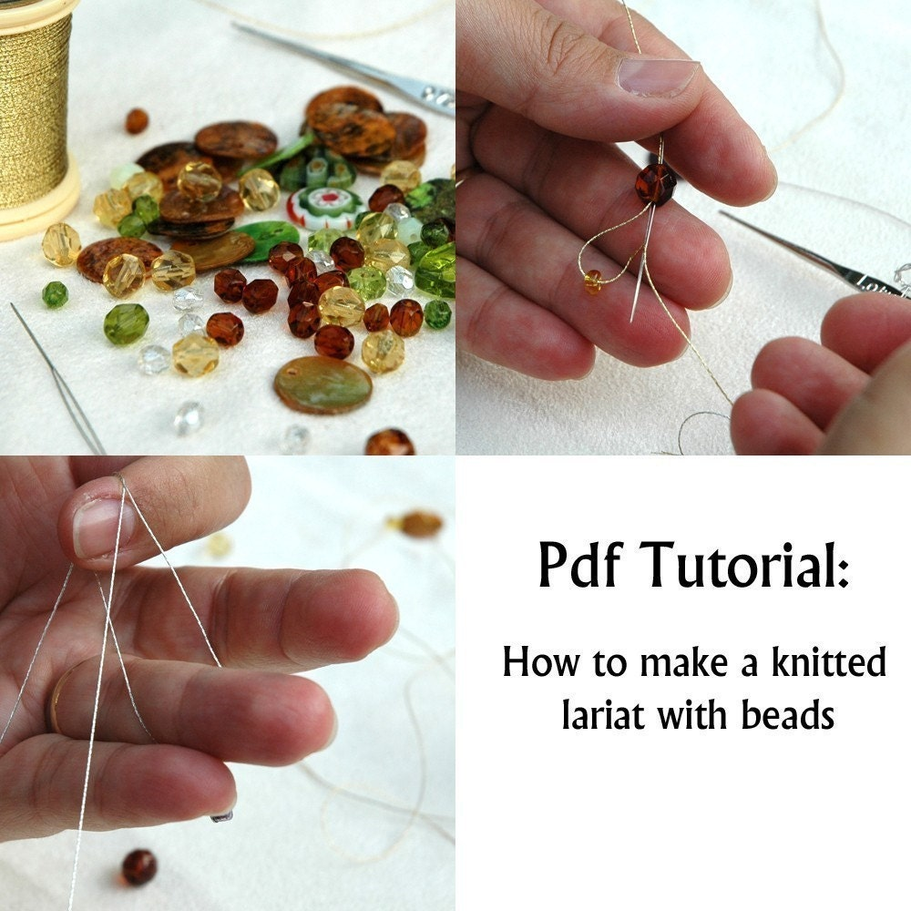 safety pin jewelry instructions