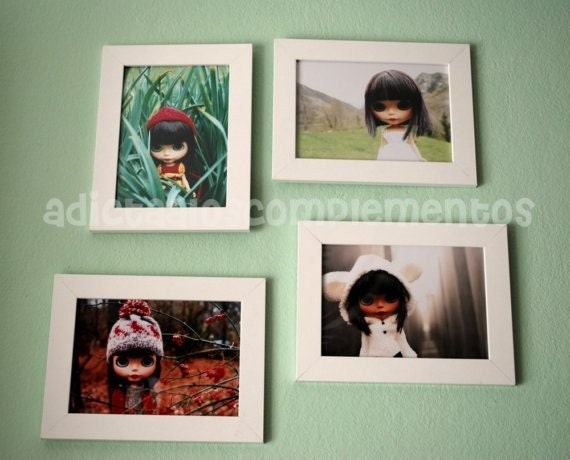SPECIAL OFFER. Blythe Four Seasons Collection - (Set of four 5x7 Fine Art Photographs)