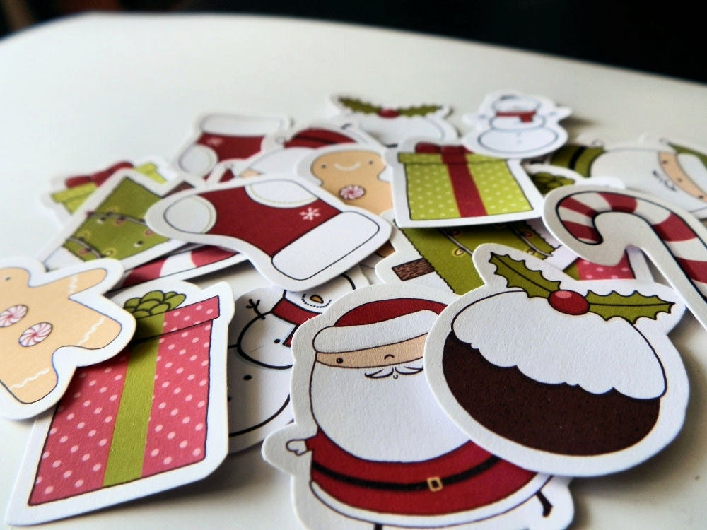 Merry Christmas sticker multi pack