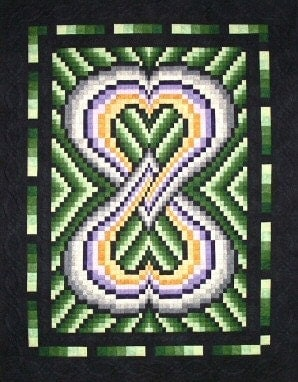 SweetSassyDiva: Lover's Knot Quilt!