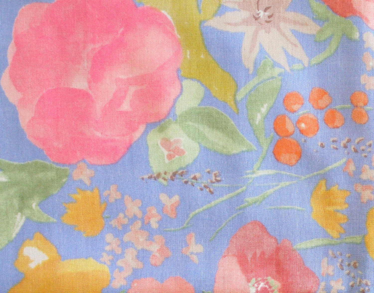 Nani Iro Kokka Fuccra : rakuen Japanese Fabric - light blue