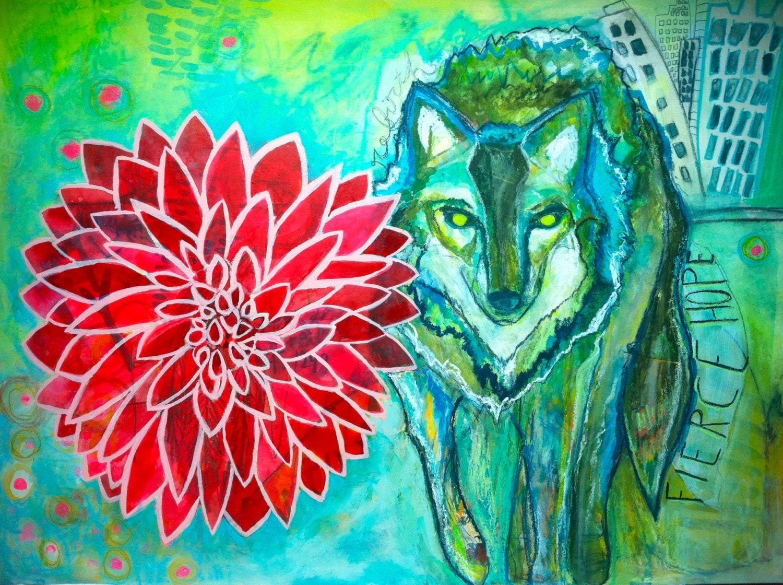Dahlia Wolf Dignity & Integrity Fine Art Print