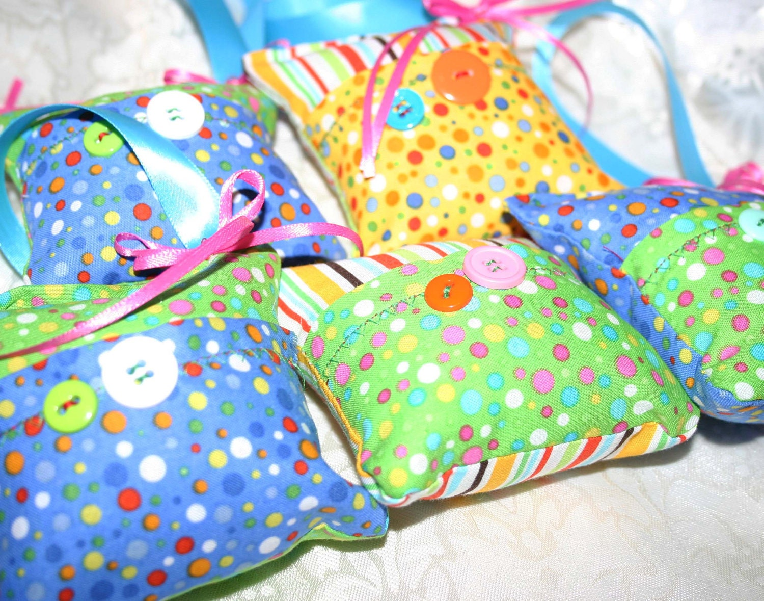 5 Party Pack Tooth Fairy Pillows - Jenny Looms