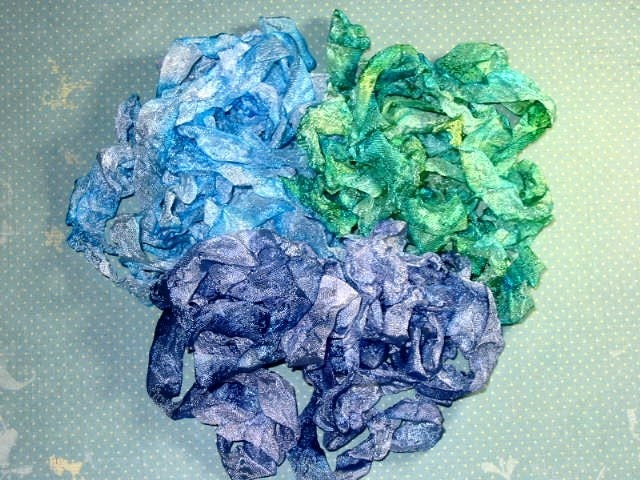 Ocean Treasures Hand Dyed Ribbon