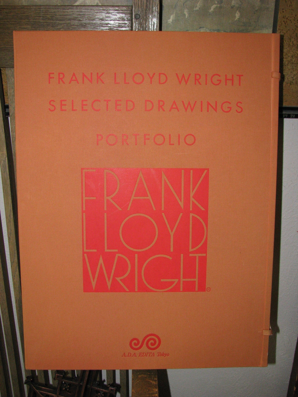 frank lloyd wright rare a d a edita tokyo japanese print box