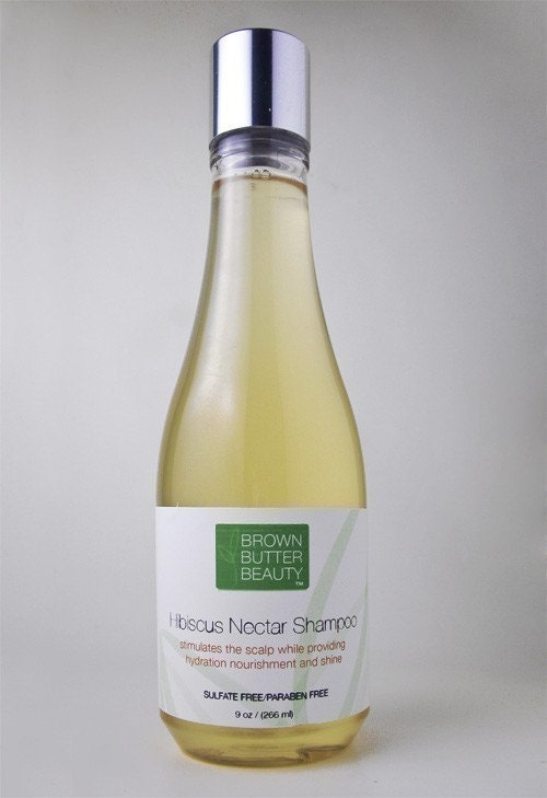 Hibiscus Nectar Shampoo - All Hair Types - SLS Free