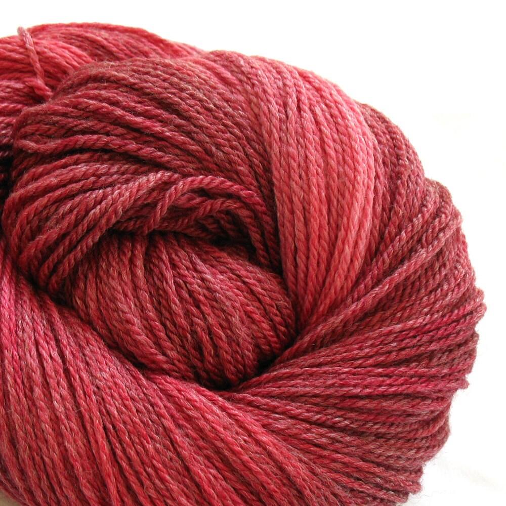 Merino Bamboo Yarn Hand Dyed (AGW641) - tayloredfibers